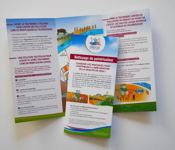 Dépliant agri-viti Syndicat Layon Aubance Louets (illustrations fournies)