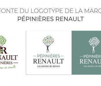 Refonte du logo Pépinières Renault