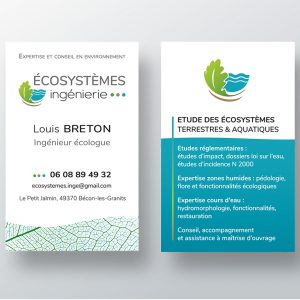 Création logo et cartes de visite
